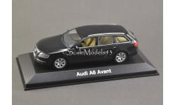 1:43 — Audi A6 Avant 2004 black