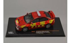 Mitsubishi Lancer Evo Fire department red