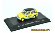 Fiat 500 Giardiniera Necchi, масштабная модель, Altaya, scale43