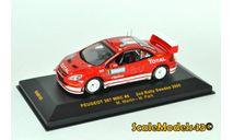 Peugeot 307 WRC No.8, Rally Schweden Martin/Park 2005, масштабная модель, IXO Rally (серии RAC, RAM), scale43