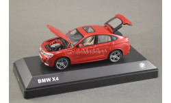 !!! С РУБЛЯ !!! — 1:43 — BMW X4 (F26) melbourne red metallic