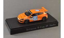1:43 Volkswagen VW Scirocco #11 Scirocco R-Cup 2012 Team ZF Sachs, масштабная модель, Spark