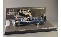 1:43 — Lincoln Continental Presidential Parade Vehicle X-100 Berlin (1963) !!! НОВОГОДНЯЯ РАСПРОДАЖА !!!, масштабная модель, Minichamps, 1/43