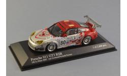 SALE / ЛИКВИДАЦИЯ !!! 1:43 Porsche 911 (996) GT3 RSR #80 Flying Lizard 24h LeMans 2005, масштабная модель, Minichamps