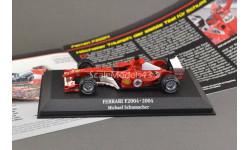 С РУБЛЯ !!! 1:43 — Michael Schumacher Ferrari F2004 #1 World Champion formula 1 2004 БЕЗ РЕЗЕРВНОЙ ЦЕНЫ !!!, масштабная модель, Atlas, scale43