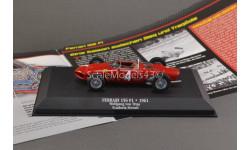 С РУБЛЯ !!! 1:43 — Wolfgang Graf Berghe von Trips Ferrari 156 Sharknose #4 2nd formula 1 1961  2008 БЕЗ РЕЗЕРВНОЙ ЦЕНЫ !!!, масштабная модель, Atlas, scale43