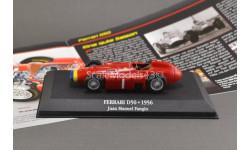 С РУБЛЯ !!! 1:43 — Juan Manuel Fangio Ferrari D50 #1 World Champion formula 1 1956  БЕЗ РЕЗЕРВНОЙ ЦЕНЫ !!!, масштабная модель, Atlas, scale43
