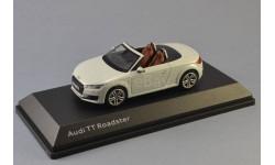 Audi TT Roadster glacier white