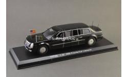 1:43 Cadillac DTS Presidential B. Obama (2009), масштабная модель, Chevrolet, Luxury Diecast (USA), 1/43