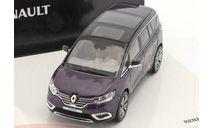 Renault Espace Initiale Paris Concept Car 2014, масштабная модель, Norev, scale43