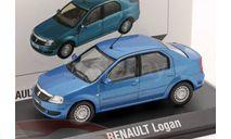 Renault Logan, масштабная модель, Norev, scale43