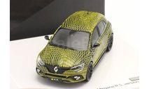 Renault Megane IV R.S. version Monaco 2017, масштабная модель, Norev, scale43