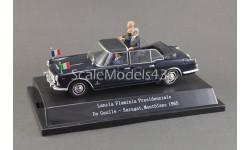 1:43 — Lancia Flaminia Presidenziale De Gaulle - Saragat, Montblanc '1965, масштабная модель, Starline, scale43