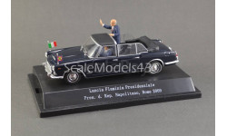 1:43 — Lancia Flaminia Presidenziale President Napolitano, Rome 2009, масштабная модель, Starline, scale43