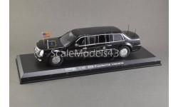 1:43 — Cadillac DTS Presidential B. Obama (2009), масштабная модель, Luxury Diecast (USA), scale43