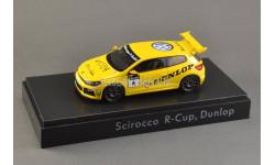 1:43 Volkswagen VW Scirocco #6 Scirocco R-Cup 2012 Team Dunlop, масштабная модель, Spark