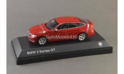 С РУБЛЯ !!! 1:43 BMW 3 GT (F34) red, масштабная модель, iScale, scale43