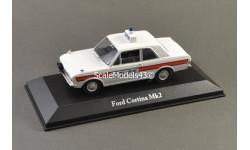 С РУБЛЯ !!! 1:43 Ford Cortina Mk II Hampshire policy, масштабная модель, Atlas, scale43