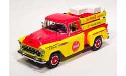 Chevrolet 3100 Coca-Cola Pick-up (1957) Matchbox - Шевроле 3100 Пикап, масштабная модель, scale43