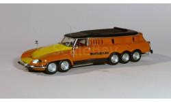Citroen DS Break PLR (Poids Lourd Rapide) Michelin - Mille Pattes (1972) - Altaya - 1:43