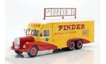 Bernard 28 Electrical Truck Pinder circus, масштабная модель, Direkt Collections, scale43