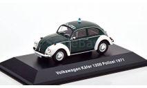 Volkswagen Käfer 1200 Polizei 1971, масштабная модель, Altaya, scale43