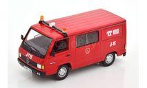 Mercedes-Benz 180 Feuerwehr Zaragoza, масштабная модель, Altaya, scale43