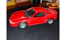 Ford Mustang GT 1994, масштабная модель, Welly, scale32