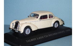 Talbot Lago T26 Record Coupe - 1948 год