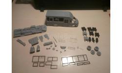 КИТ автобуса ТУЛА-2221, сборная модель автомобиля, Конверсии мастеров-одиночек, scale43, ГАЗ