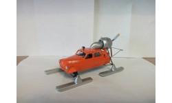 КИТ аэросани СЕВЕР-2, сборная модель автомобиля, Конверсии мастеров-одиночек, 1:43, 1/43