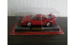 Ferrari F40, журнальная серия Ferrari Collection (GeFabbri), Ferrari Collection (Ge Fabbri), scale43