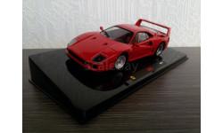 Ferrari F40, масштабная модель, 1:43, 1/43, Hot Wheels Elite