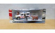 Комиссия | Land Rover Defender 110 Mountain rescue ambulance | Cararama | 1/43, масштабная модель, Bauer/Cararama/Hongwell, scale43