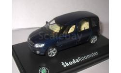 Skoda Roomster 2007 Storm Blue Metallic