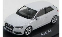 Audi A3 2012 White, масштабная модель, Schuco, scale43