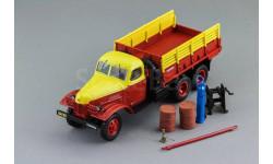 ЗИС 151 'Техпомощь', Тираж 720 экз. (красно-желтый), масштабная модель, DiP Models, scale43