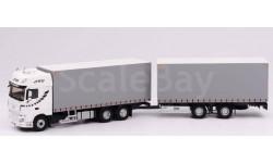DAF XF 480 грузовик с прицепом 'STB' 2017, масштабная модель, Eligor, scale43