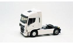 седельный тягач IVECO STRALIS 570XP 2016 White, масштабная модель, Eligor, 1:43, 1/43