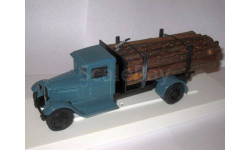 ЗиС-12 грузовик для перевозки леса, масштабная модель, ЛОМО-АВМ, scale43