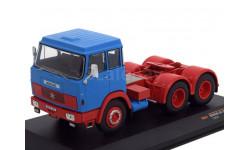 1:43 седельный тягач HENSCHEL HS 19 TS 1966 Blue/Red