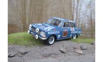 MOSKVITCH - 412 Kastytis Girdauskas / Uldis Madrevic, USSR. WRC Rally 1000 Lakes Finland 1972, масштабная модель, Вадим Покровский, scale43, Москвич