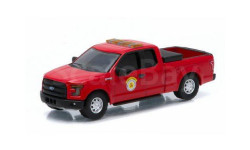 FORD F-150 Arlington Heights Public Works Truck 2015, масштабная модель, Greenlight Collectibles, scale64