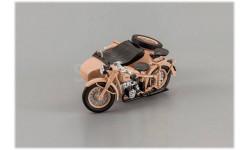 ММЗ/ИМЗ М-72 1955 г. с коляской, масштабная модель мотоцикла, DiP Models, scale43