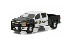 CHEVROLET Silverado 'Tempe Police Arizona Patrol' 2015, масштабная модель, Greenlight Collectibles, scale64