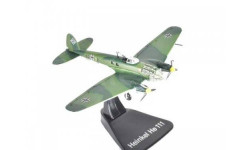Heinkel He111P-4 KG 54 Luftwaffe 1940, масштабные модели авиации, Atlas, scale144