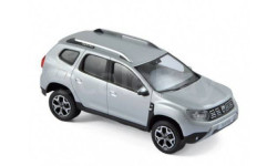 RENAULT DACIA Duster 2 4 WD 2018 Platine Silver, масштабная модель, Norev, scale43