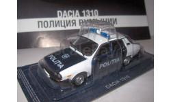 # 52 Dacia 1310 Полиция Румынии, журнальная серия Полицейские машины мира (DeAgostini), 1:43, 1/43, Полицейские машины мира, Deagostini