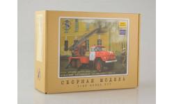 1:43 Сборная модель Пожарная автолестница АЛ-30 (131), 1970 г.
