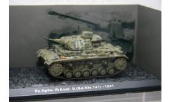 Pz.Kpfw. III Ausf. G (Sd.Kfz. 141) 1941, масштабные модели бронетехники, Atlas, scale72